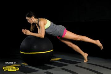 Advanced Übungen mit dem Wellness Ball