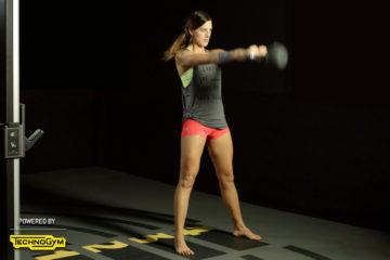 Basic Übung mit Kettlebells