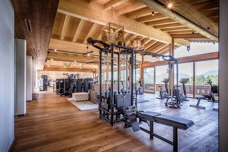 Fitnessbereich Wellnessshotel Peternhof