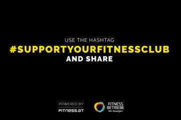 #SupportYourFitnessclub – hilf auch Du mit!