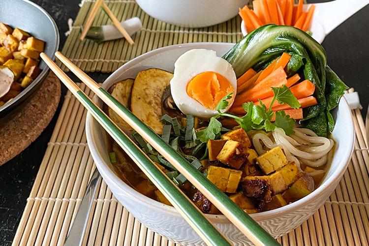 Asia-Suppe vegetarisch